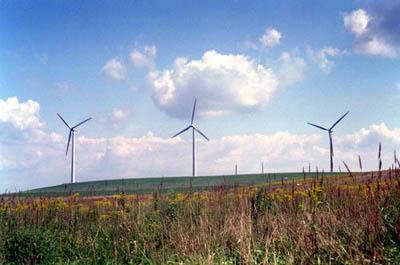 Green Mountain Wind Energy Center, Garrett, PA (Photo: DOE/NREL)